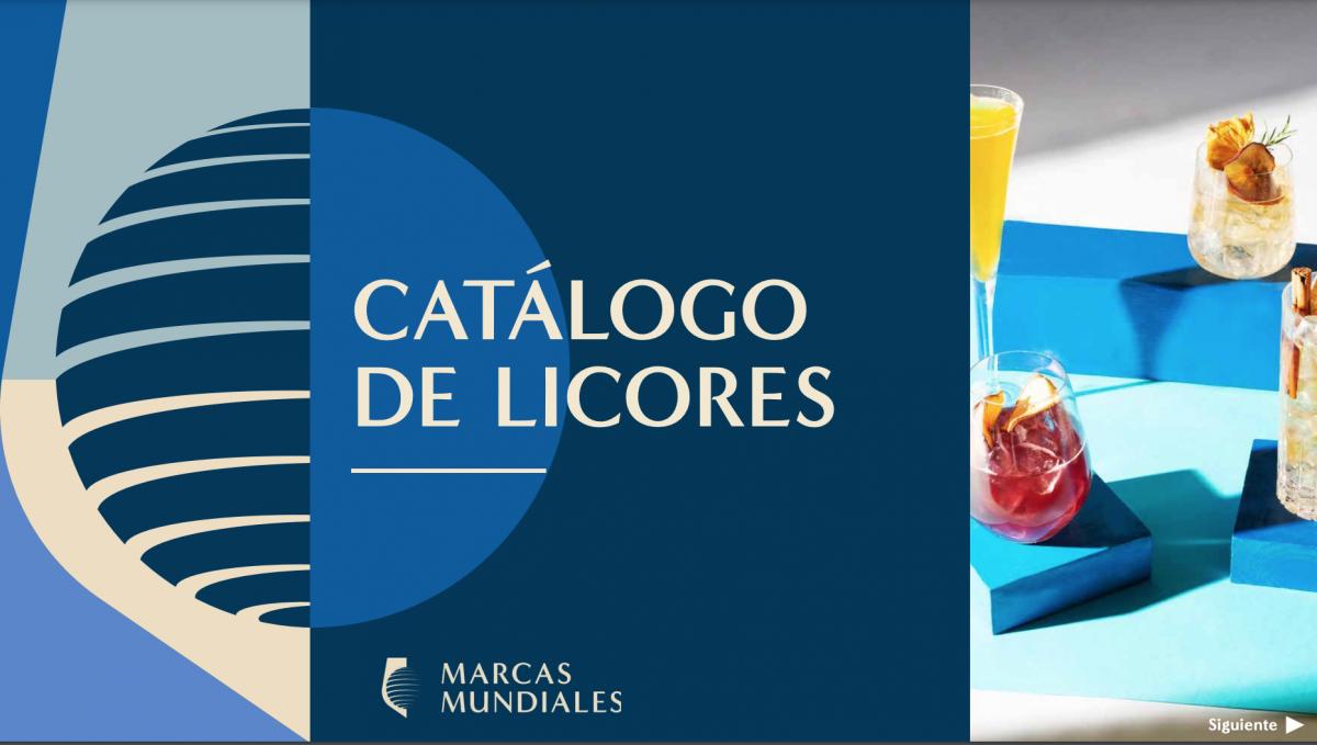 Catálogo de licores